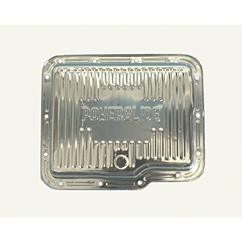 Eckler's Premier Quality Products 33147026 Camaro Automatic Transmission Oil Pan Powerglide Chrome