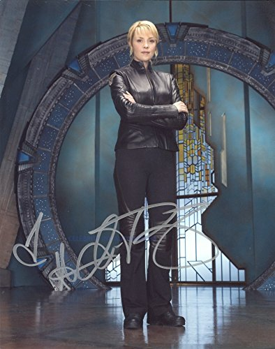AMANDA TAPPING as Samantha Carter - Stargate SG-1 GENUINE AUTOGRAPH