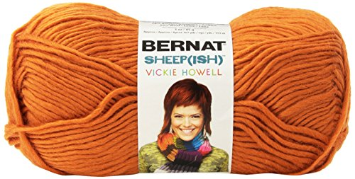 (Spinrite Vickie Howell Sheep-ish Yarn, Pumpkin-ish)