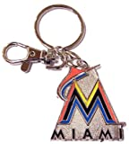 MLB Miami Marlins Team Logo Heavyweight Key Ring