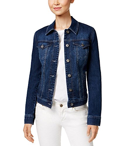 Style & Co. Embroidered Denim Jacket (Pasadena, M)