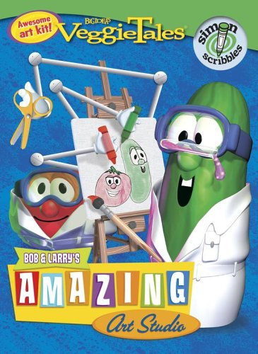 Bob & Larry's Amazing Art Studio (Veggietales) Veggietales Coloring Book