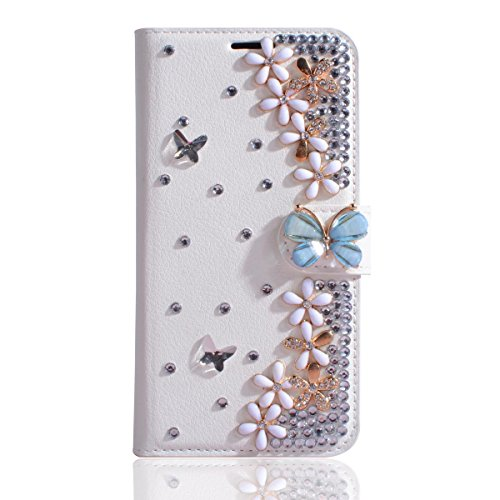 Xiaomi Mi MAX 2 Case,Gift_Source [Card Slot Pouch] Luxury PU Leather Purse Bling Shining Diamond Wallet Folio Case Flip Stand Protective Cover for Xiaomi Mi MAX 2 (6.44