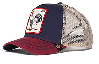 Goorin Bros - Gorra estilo Animal Farm Cock color azul marino ajustable 76910fc93d1