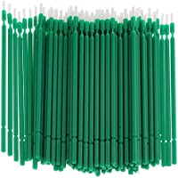 100 Pcs Dental Micro Applicator Brush Tooth Applicator Bendable - Green, 10cmPractical and Professional