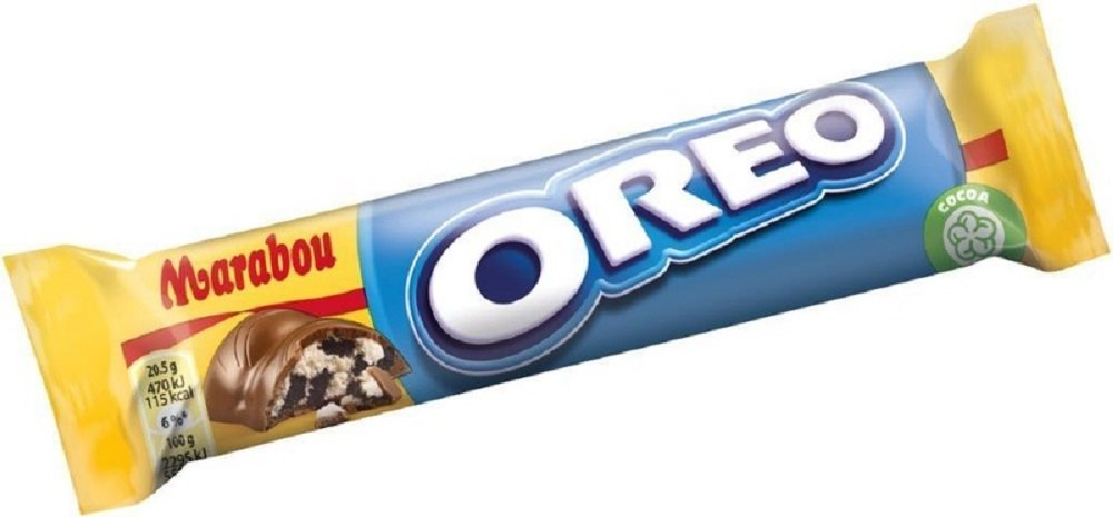 4 Bars x 41g of Marabou Oreo - Original - Swedish - Milk Chocolate