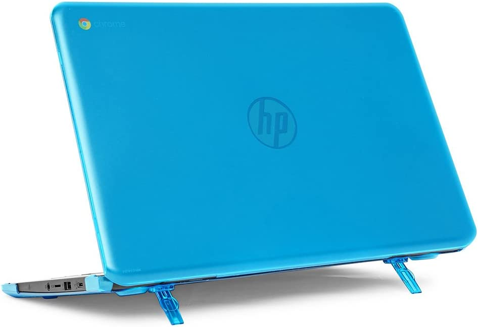 "mCover Hard Shell Case for 14"" HP Chromebook 14 G5 / 14-CA / 14-DB Series (NOT Compatible with Older HP C14 G1 / G2 / G3 / G4 Series) laptops (HP C14-G5 Aqua)"
