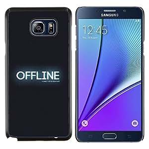 LECELL--Funda protectora / Cubierta / Piel For Samsung Galaxy Note 5 5th N9200 -- OFFLINE --