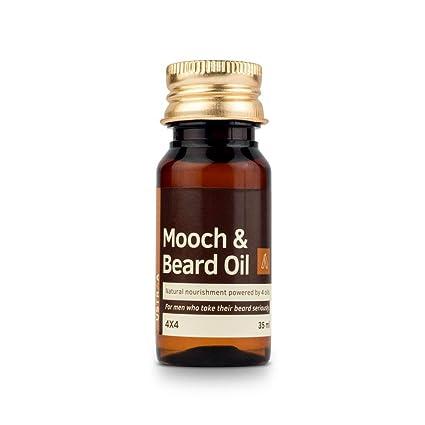 Glamorous Mart - Ustraa de intercambios y Beard 4x4 aceite para los hombres - 35 ml