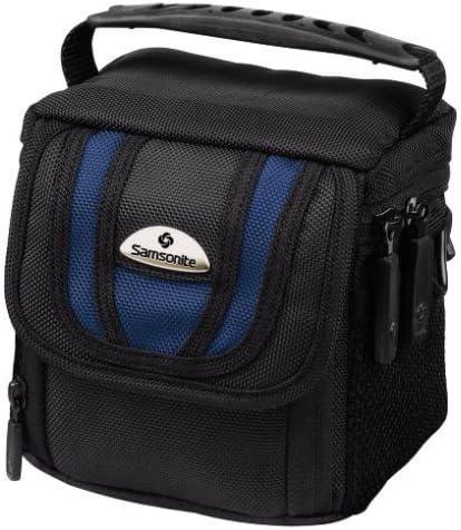 Black//Blue Samsonite Camera and Equipment Bag Trekking Pro DFV 36