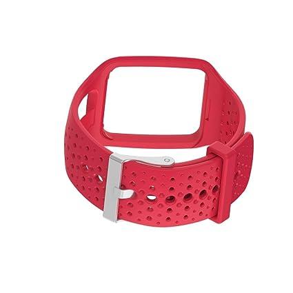 MYQyiyi Correa de Silicona de Reloj Inteligente para TomTom Multi Sport / Cardio GPS Watch (