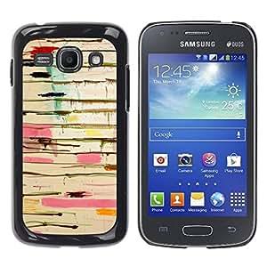 Paccase / SLIM PC / Aliminium Casa Carcasa Funda Case Cover para - Abstract Paint Drip Art Pollock Lines - Samsung Galaxy Ace 3 GT-S7270 GT-S7275 GT-S7272