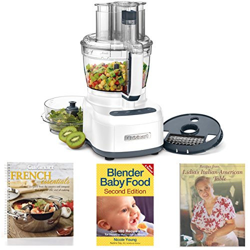 Cuisinart FP-13D Elemental 13-Cup Food Processor w/ 3 Cookbooks
