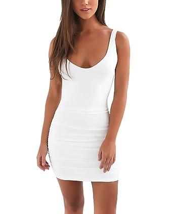 sale retailer 961b5 d02f1 Vestiti Donna Eleganti Estivi Corti Vestito Tubino Slim Fit ...