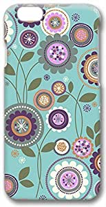 Colorful Florals Pattern Case for iPhone 6 Plus 5.5