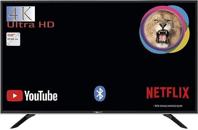 NEVIR NVR-9001-504K2S TELEVISOR 50 4K UHD Smart TV TDT SATELITE ...