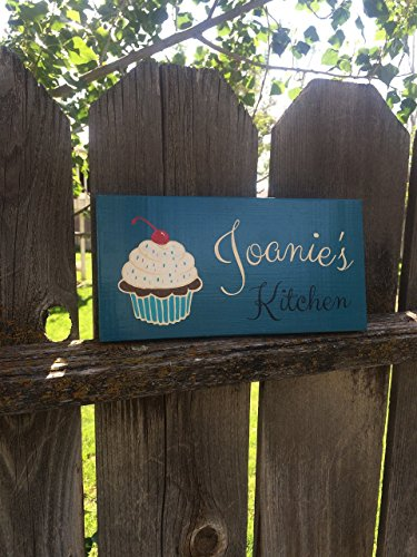 5 5 X 11 Custom Kitchen Sign Housewarming Gift Home Decor Cupcake Custom Wood Sign Wooden Sign Personalized Home Decor Personalized Gift Free Shipping Buy Online In Aruba At Aruba Desertcart Com Productid 26283440