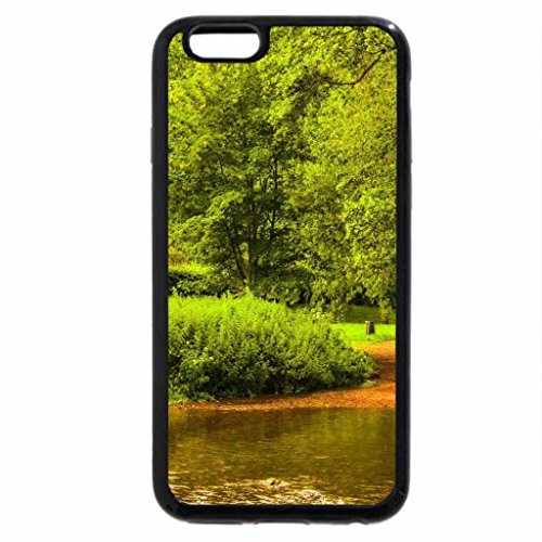 iPhone 6S / iPhone 6 Case (Black) Stone Bridge in Forest