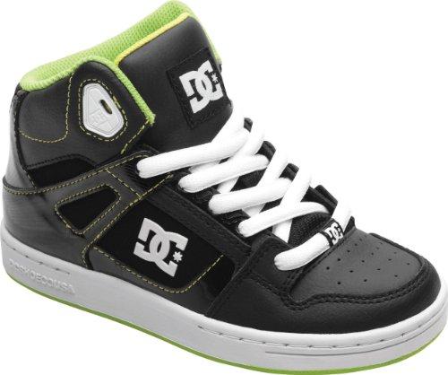 Dc Shoes Scarpe Rebound Travis Pastrana Bambino Nero Giallo Taglia 34