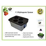 """# 3 16"""" x 10"""" x 7"""" (4 Site) H2OtoGro® Hydroponic REPLACEMENT Grow Module & Lid"""