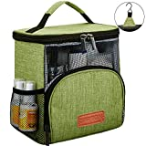 REGER Hanging Shower Caddy Tote Bags, Water Resistant Easy Dry Fabric PVC Mesh Toiletry Bags for Men Women Gym College