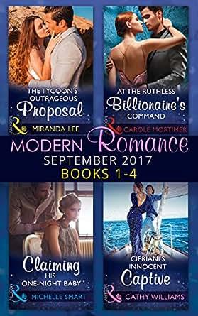 Amazon com: Modern Romance September 2017 Books 1 - 4 (Mills