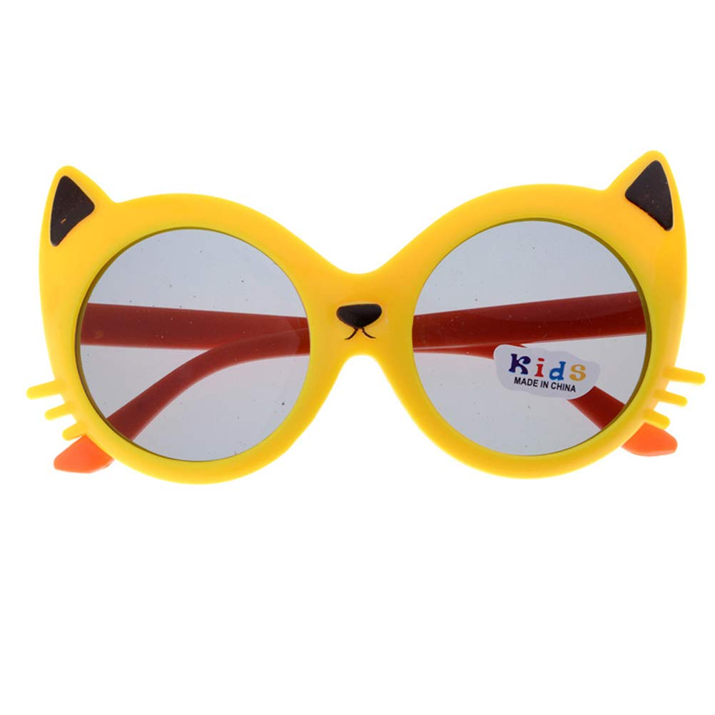 3 Pcs Rubber Flexible Kids Polarized Baby Sunglasses Fashion Cute for Boys Girls Baby and Children Age 3-10