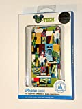 Disney D-tech World WDW Parks Authentic 2014 Logo Iphone 5 Phone Hard Case & Screen Guard Cleaning Cloth