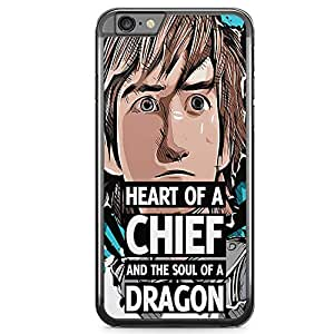 Loud Universe Hiccup Quote iPhone 6 Case how to train your dragon iPhone 6 Cover with Transparent Edges