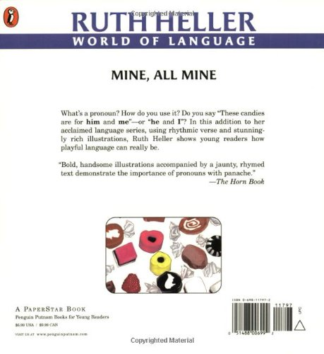 Mine, All Mine!: A Book About Pronouns (Explore!): Ruth Heller ...