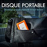 LaCie Rugged Mini 1TB External Hard Drive Portable
