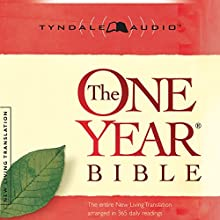 The One Year Bible NLT Audiobook by  Tyndale House Publishers Narrated by Todd Busteed