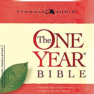 The One Year Bible NLT Audiobook
