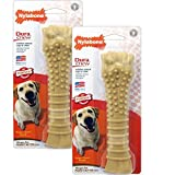 Nylabone Dura Chew Textured Souper, Peanut Butter Flavored Bone Dog Chew Toy (2 Pack) Review
