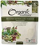 Organic Traditions Kapikacchu Powder, Mucuna, 7 Ounce (Pack of 12)