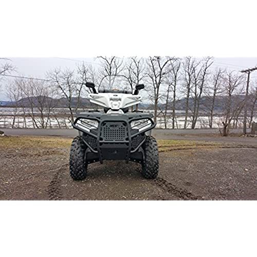 Polaris 570 sportsman accessories amazon polaris sportsman 570 2015 2017 450 2016 2017 atv front bumper brushguard hunter series publicscrutiny Images