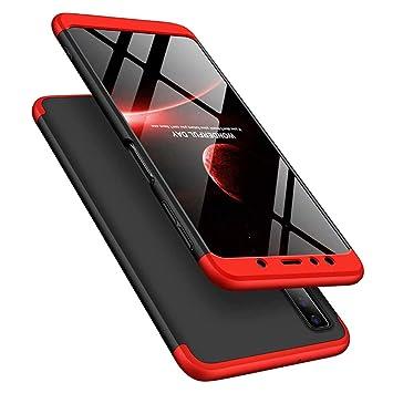 MRSTER Funda Samsung A20-360 Grados Protección Cubierta PC ...