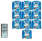 Schick Xtreme3 Subzero Razor Blade Refills - 4 ct. (Pack of 10) with FREE Loving Color trial size conditioner