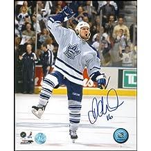 Darcy Tucker Toronto Maple Leafs Autographed Celebration 8x10 Photo
