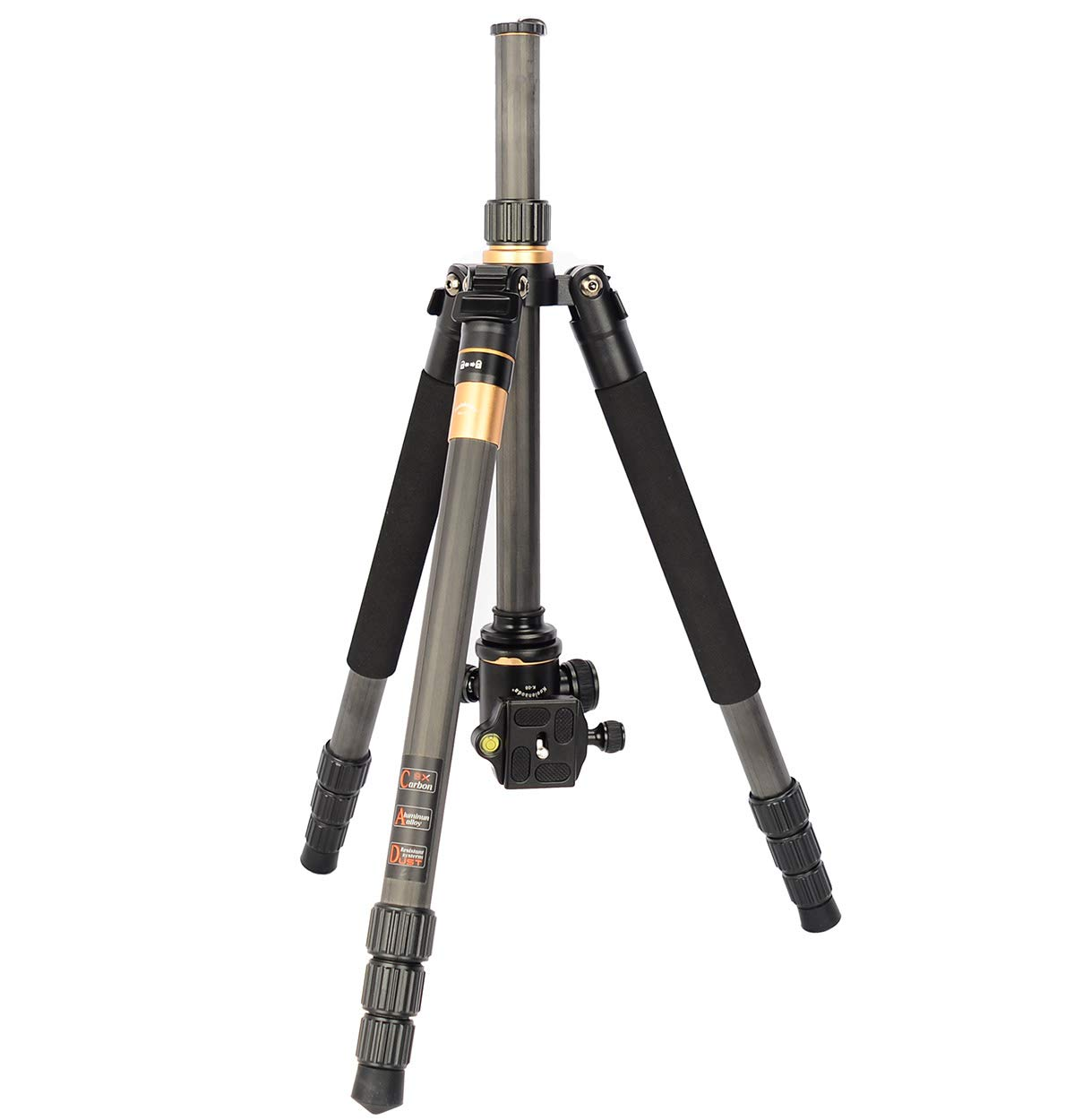 KQ-999 Peso ligero s/ólo 1.12KG Koolehaoda 55  C/ámara tr/ípode monopie con Ballhead para /C/ámara r/éflex digital