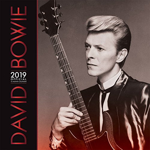 David Bowie 2019 12 x 12 Inch Monthly Square Wall Calendar by Live Nation with Foil Stamped Cover, Glam Rock Music Singer Songwriter Celebrity by BrownTrout Publishers