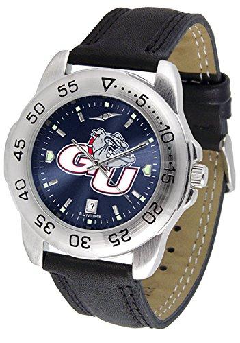 (Linkswalker Mens Gonzaga Bulldogs Sport Anochrome Watch)