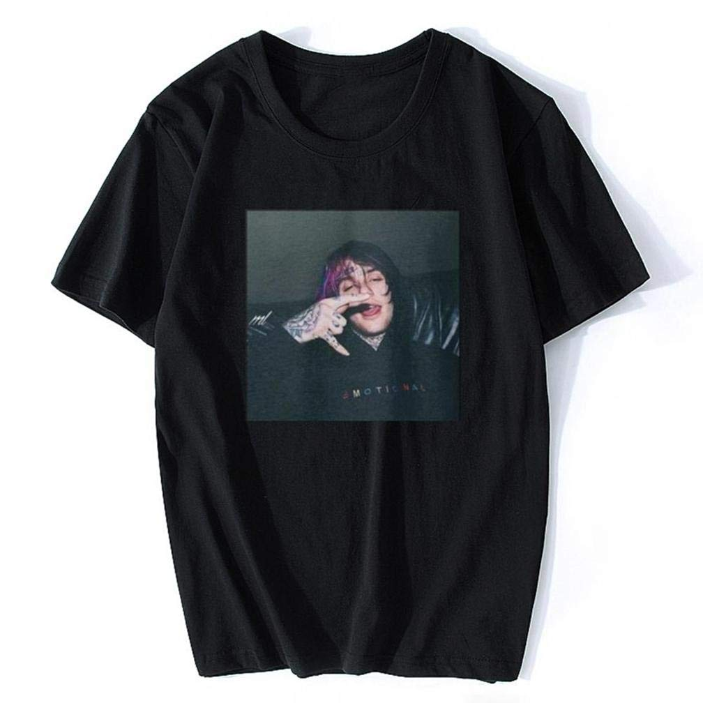 Lil Peep Nero Bianco S Printing S Funny Short Sleeves Shirts