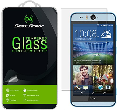 Tempered Glass Clear Screen Protector for Htc Desire Eye - 2
