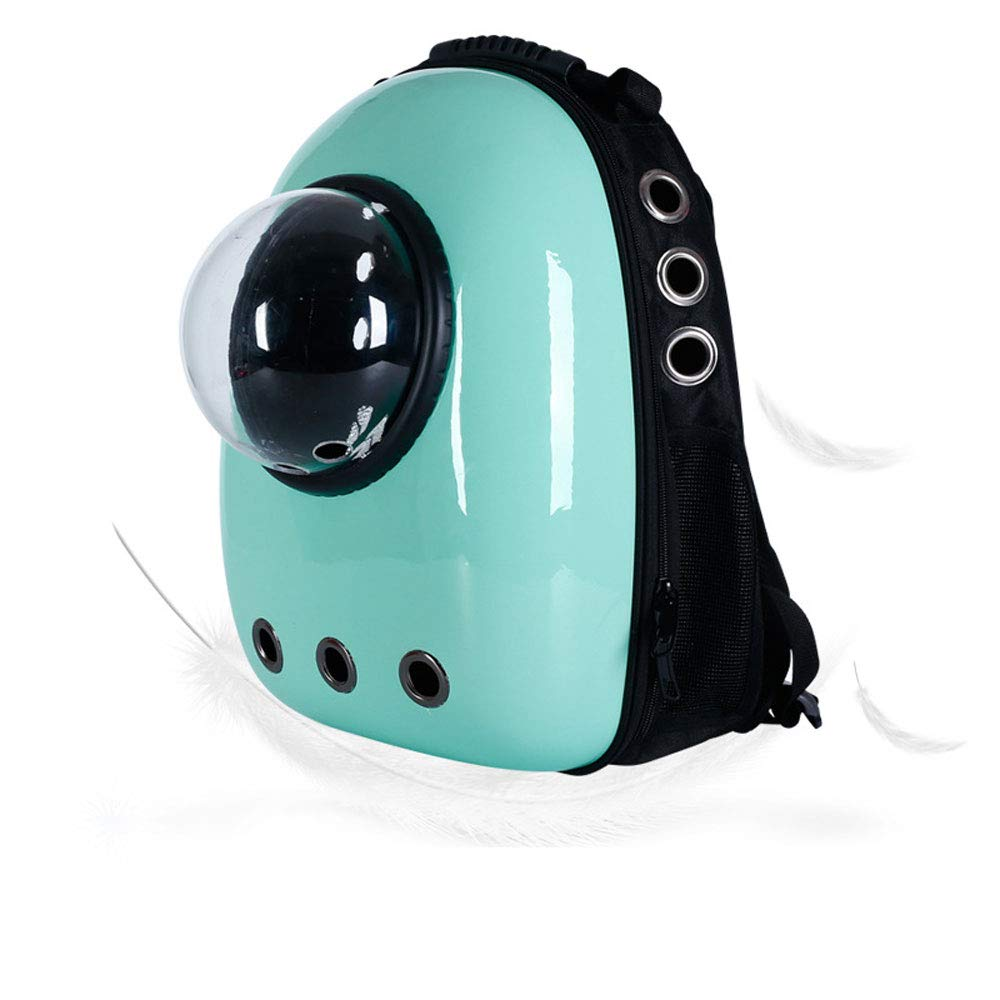 C8 FITIN Pet Rucksack Pet Space Backpack Travel Portable Pet Bag Breathable Cat Bag Puppy Backpack Pets Supplies Pet Dog Backpack
