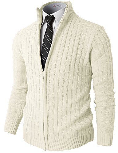 H2H Full zip Cardigan Sweaters Patterned