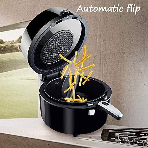 Accessoires voor heteluchtfriteuse Luchtfriteuse automatische roerbak Smart Touch Air Fryer Household Mini 1350W Bereid snelle gezonde maaltijden voor ideaal voor frites