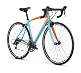 Raleigh Bikes Women's Revere 1 Endurance Road Bike, Blue, 50cm/X-Small Raleigh Bikes