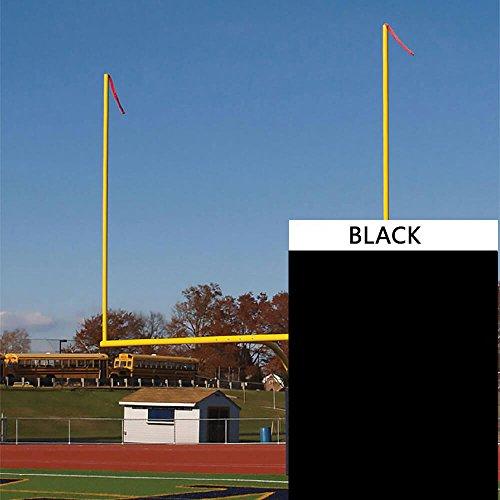 Goal Post Streamers - Black (40 in. x 4 in.)