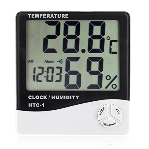 Flexzion Hygrometer Thermometer Temperature Humidity